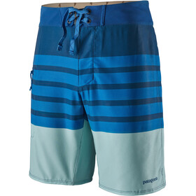 "Patagonia Stretch Planing Boardshorts 19"" Men, mid stripe/superior blue"
